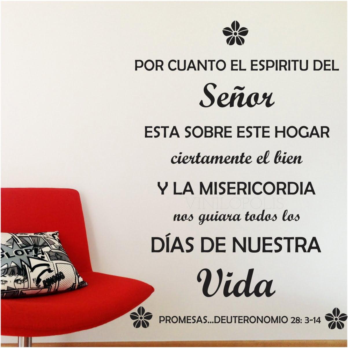 Vinilo Decorativo Frase Promesas